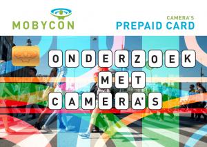 prepaid card onderzoek met camera's